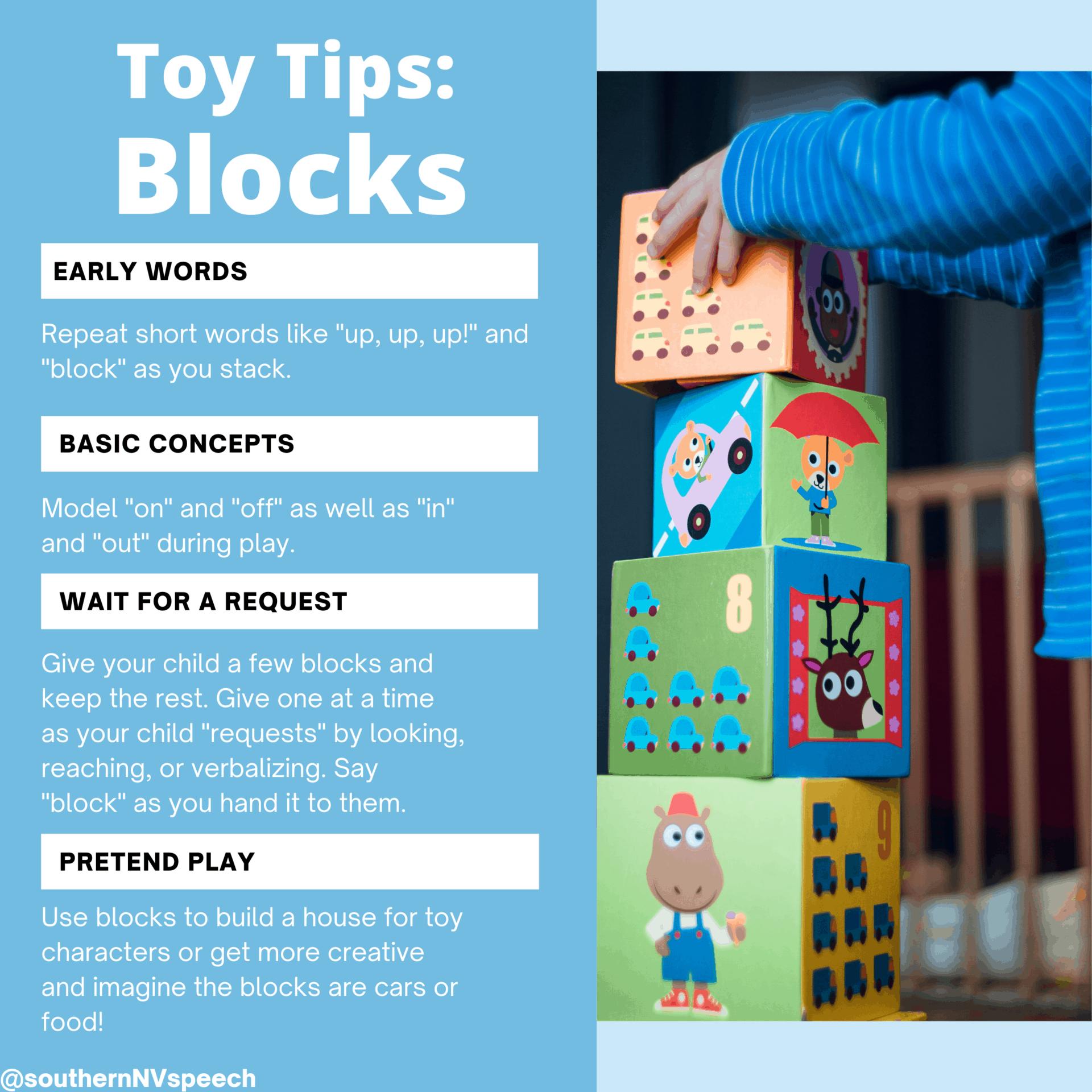 Toy Tips: Blocks